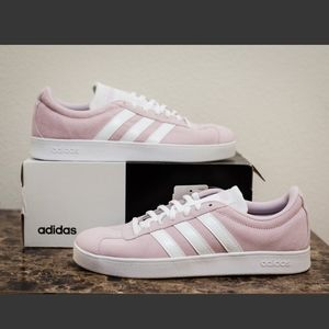 ADIDAS / WOMENS AERO PINK VL COURT2.0 SHOES